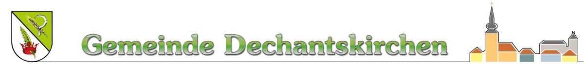 Gemeinde Dechantskirchen Logo